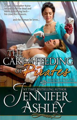 The Care and Feeding of Pirates by Jennifer Ashley